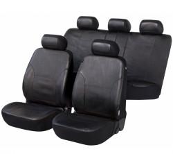 Kunstleder Autositzbezug Sussex schwarz