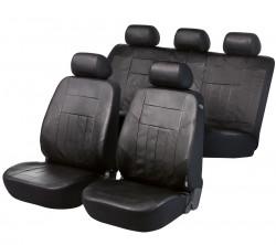 Kunstleder Autositzbezug Soft Nappa schwarz
