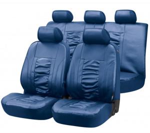 Kunstleder Autositzbezüge Raphael blau